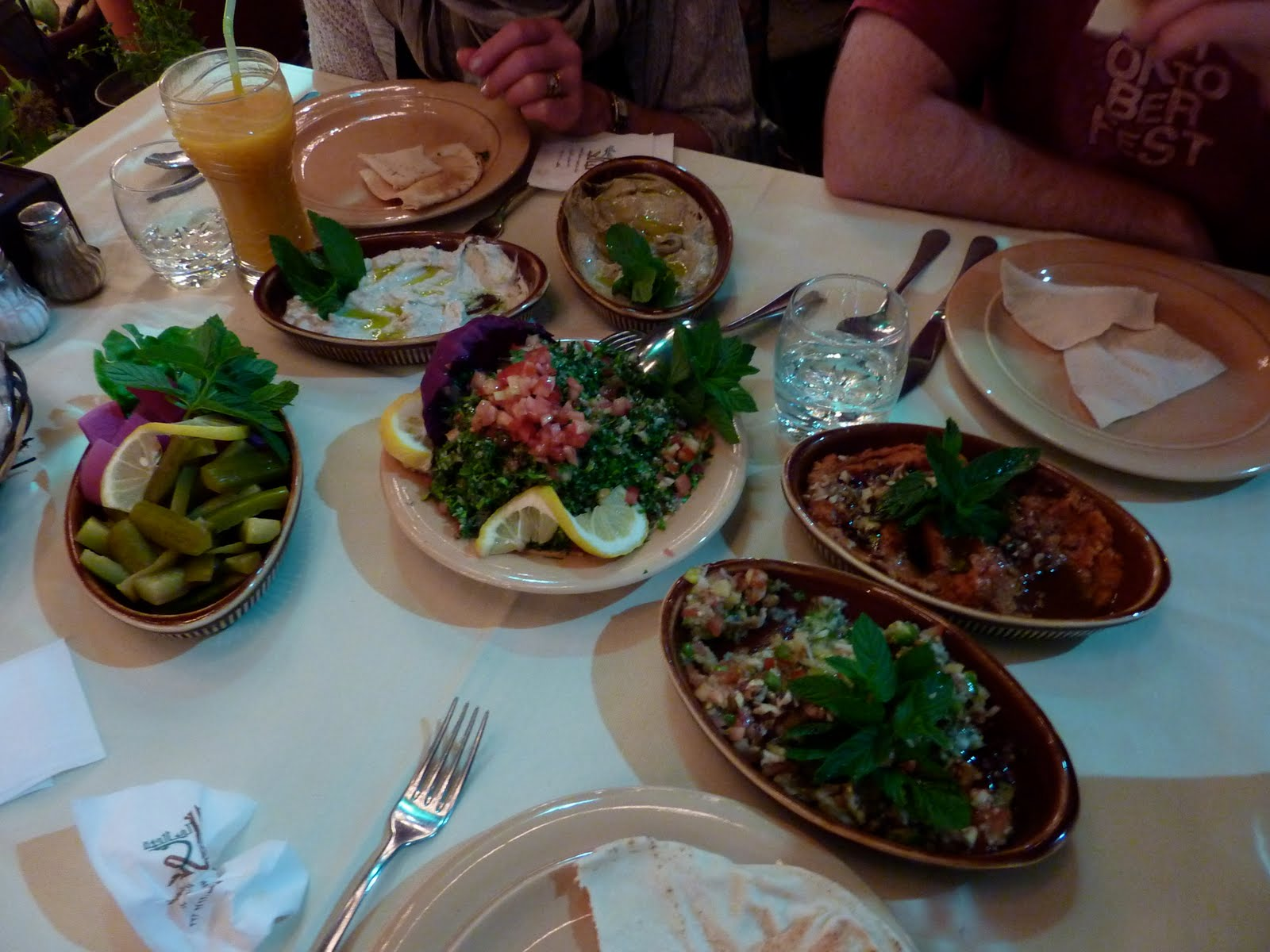 Pita Palace and Damascus Gate Middle Eastern food is delicious  |Damascus Food
