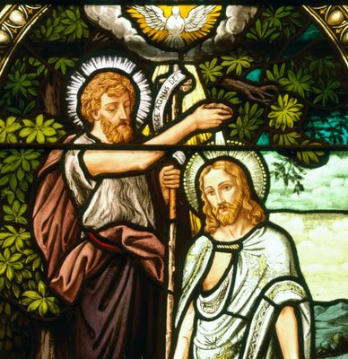 On the title's link the thoughts on the Baptism of Our Lord are presented