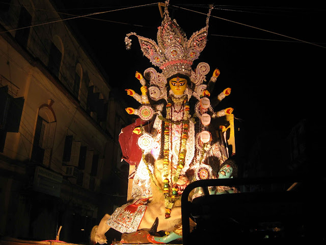Durga Visarjan images