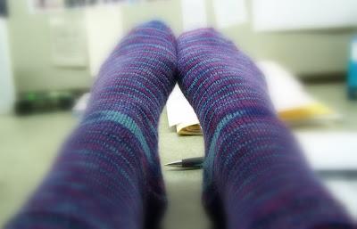 Socks in July!