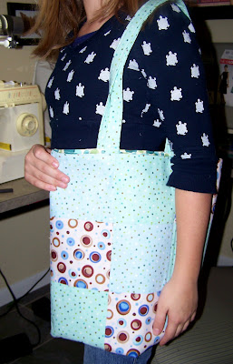 My Sewing Student Makes a Bag!