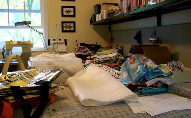 Sewing Room Stashing