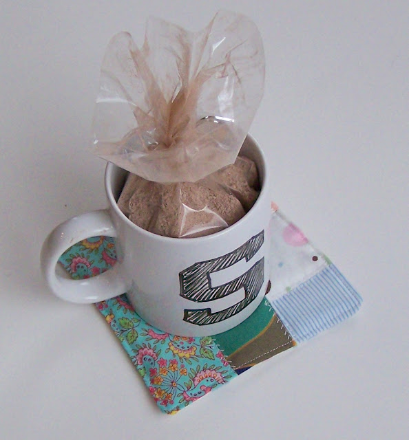 Mug Rugs, Cocoa and Personalized Mugs