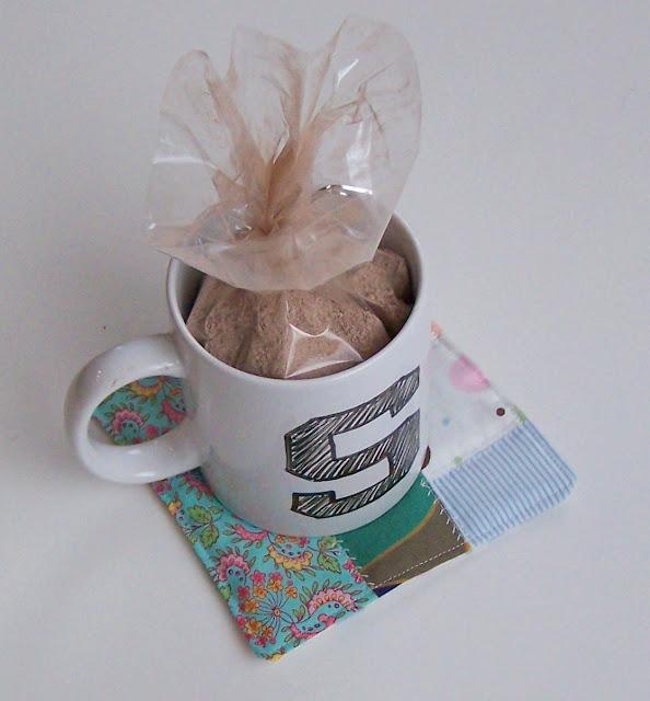 Mug Rugs, Cocoa and Personalized Mugs