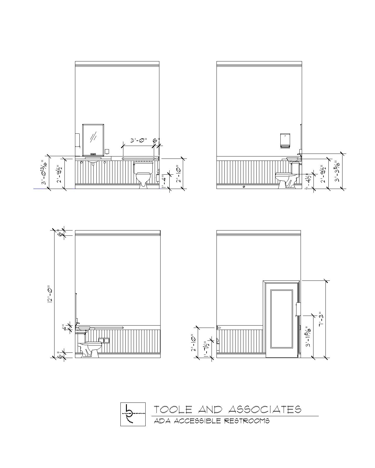 Bathroom Floor Plans For Handicapped | Home Decorating ...
