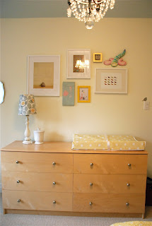 nursery room makeover with built in window seat and IKEA closets