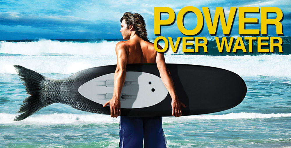 Personal Water Propulsion (PWP) WaveJet surfboards
