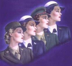 Vintage Military Women