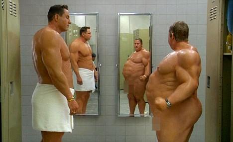 Boys locker room nude