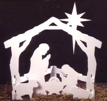 Nativity Silhouette Pattern Woodworking Plans Tarman