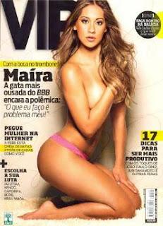 Revista VIP - Edição Completa - Maíra BBB 9 - Abril 2009