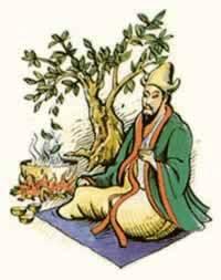 Shen Nung, Emperador Chino descubridor del té