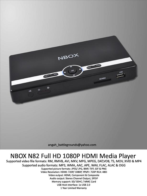 Movies And Series Collection: NBOX N82 Full HD 1080P HDMI ...