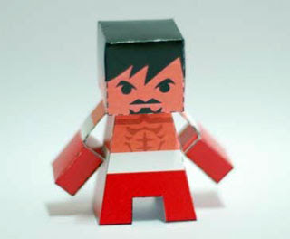 Manny Pacquiao Papercraft