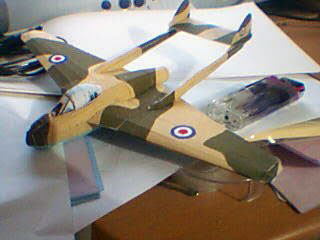 de Havilland Vampire Papercraft