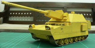 NLOS Cannon Papercraft