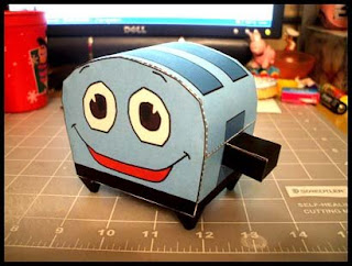The Brave Little Toaster Papercraft