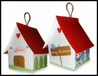 Christmas House Papercraft From Italy