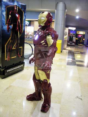 Iron Man Papercraft Suit