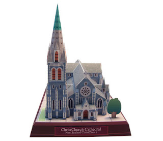 ChristChurch Cathedral Papercraft