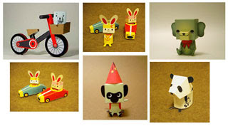 Adorable Animal Papercrafts