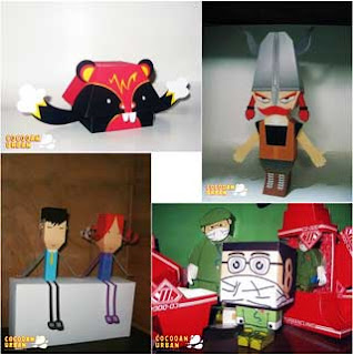 Viking Paper Toy