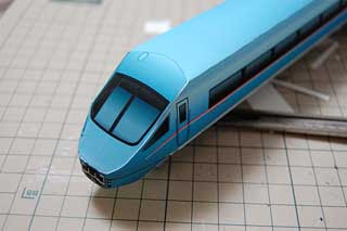 Odakyu 6000 MSE Romancecar Papercraft Train