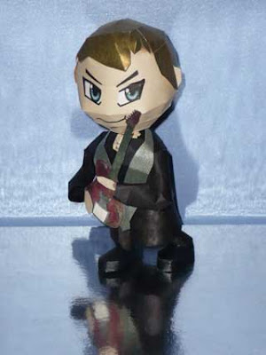 Muse Papercraft Matt Bellamy