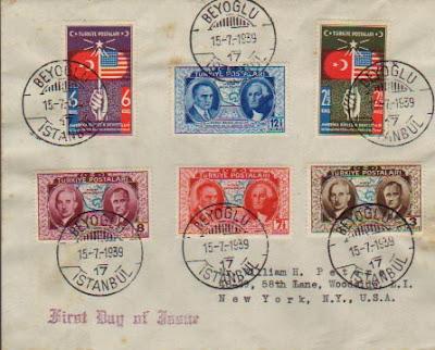 1939 Turkish Stamp and an Error | Mavi Boncuk