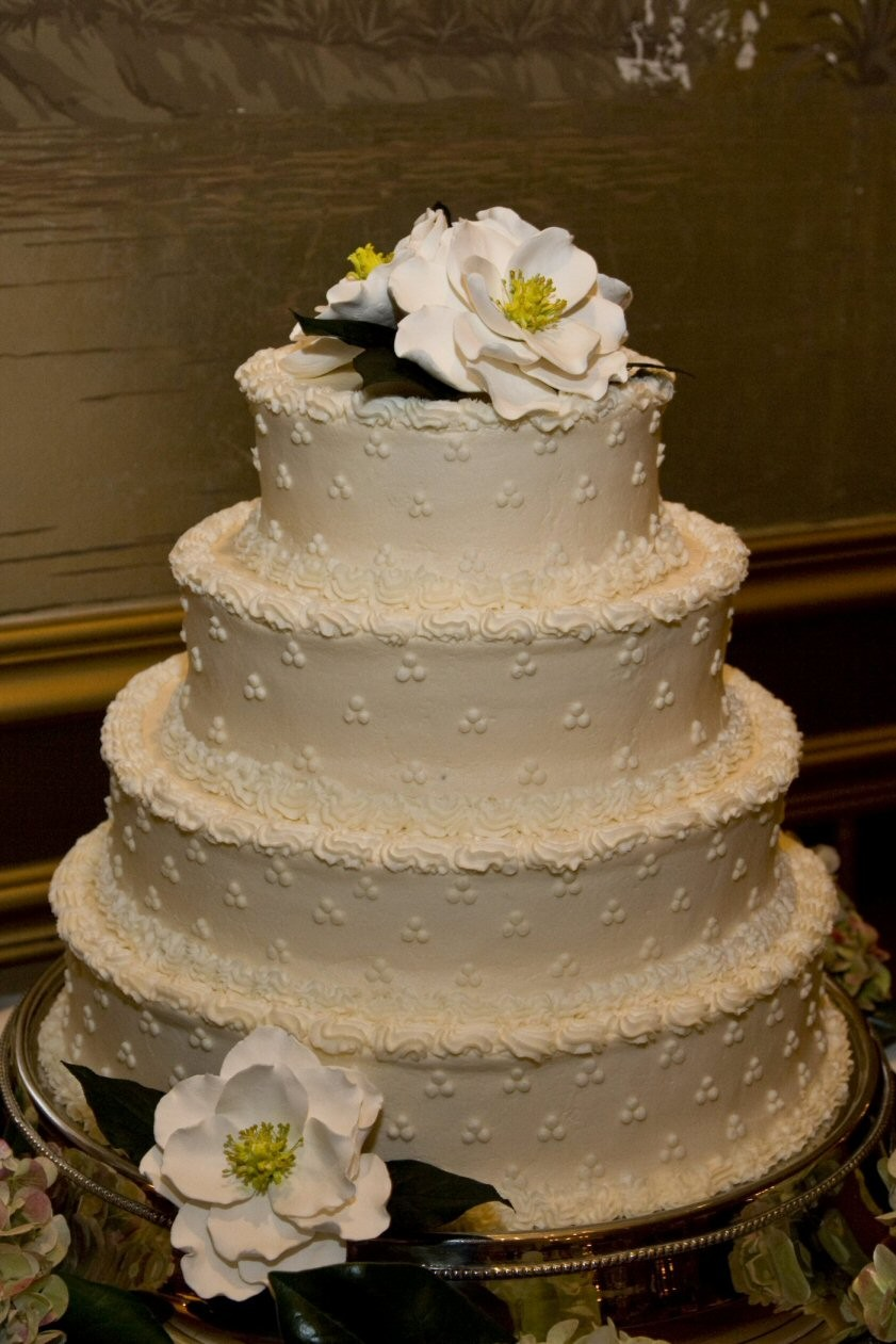 Magnolia Wedding Cake Pictures Handmade Paper Flowers By