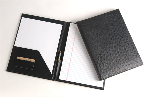 leather folio you run to meetings all day so look organized and
