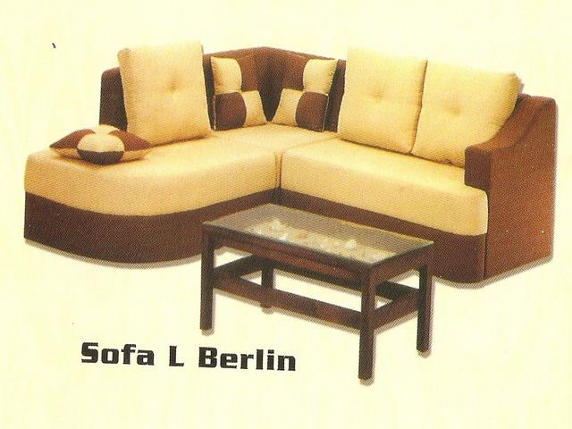 Megapillo Furniture & Spring Bed line Shop Sofa L Berlin