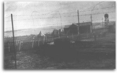 המחנה - אוהלים וצריפים