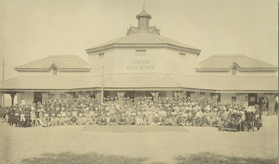 delhi central post office 1903 picture old