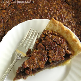 Pecan Pie - Without Corn Syrup / www.delightfulrepast.com
