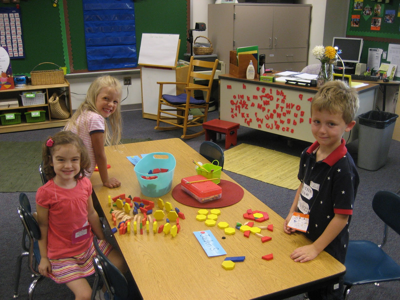 Kinder Garden: Mrs. Petty's Kindergarten Classroom: White Day