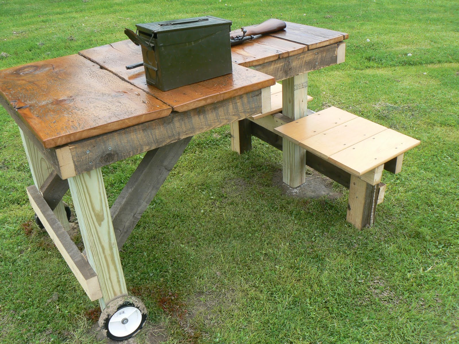 Portable Shooting Bench Building Plans | AndyBrauer.com