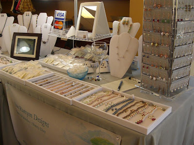 Sue Runyon Designs My Craft Fair Booth
