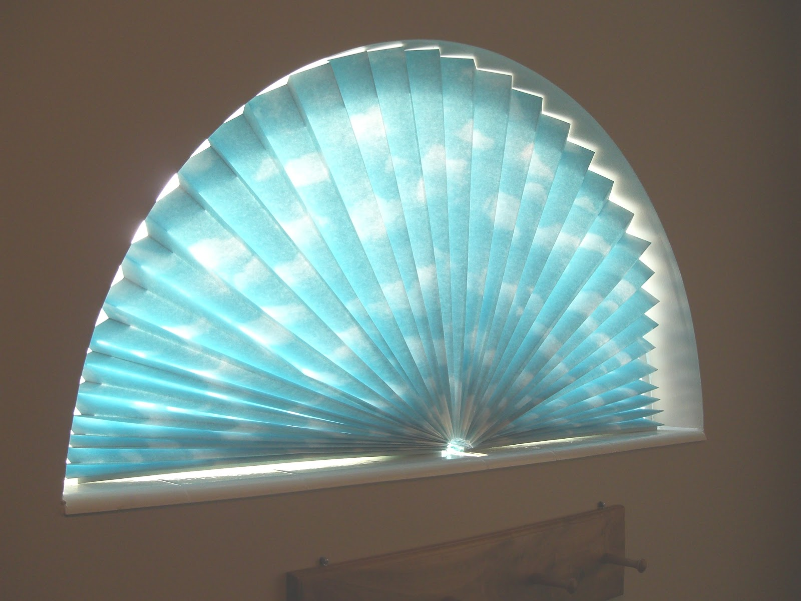 Sue Runyon Designs How To Make A Window Fan Shade
