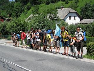 Pohodni tabor se bliža koncu