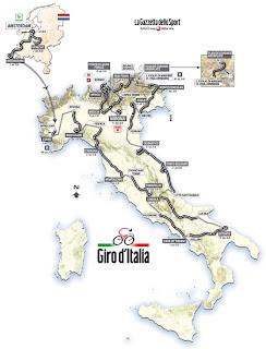 Calendario Giro D Italia.Giro D Italia 2010 Percorso Tappe Altimetrie E Dettaglio