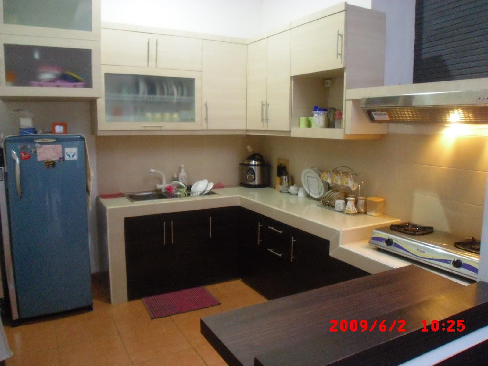 Desain Dapur Basah