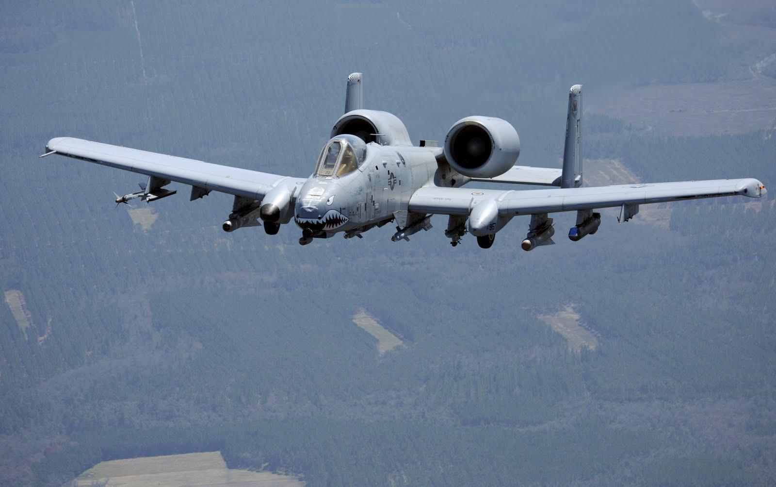 Amerika Tempatkah A-10 Untuk Patroli Di Laut China Selatan