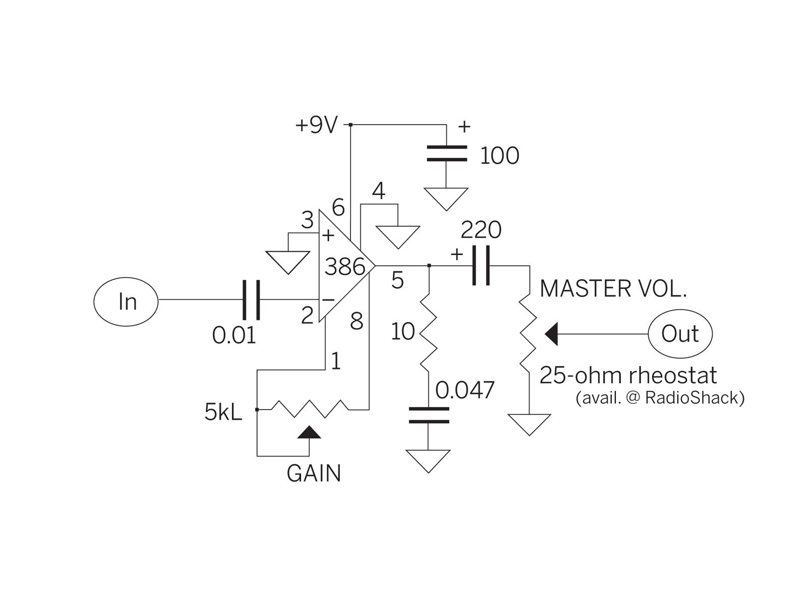 medium resolution of lm386 cigar box amp wiring diagram my wiring diagram cigar box guitar mini amp lm386