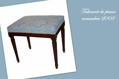 la tapisserie tabouret de piano louis xvi. Black Bedroom Furniture Sets. Home Design Ideas