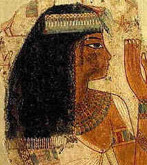 Days Of The Pharaohs Kinds Of Ancient Egypt Hair Style