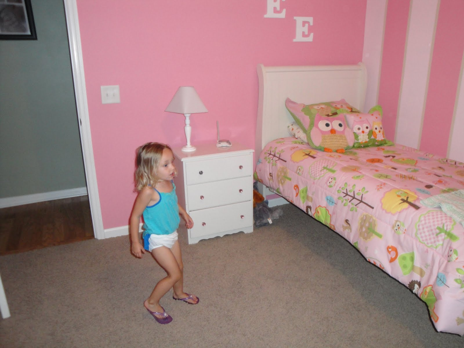 Big Girl Beds Our Angel Big Girl Bed For Baylee