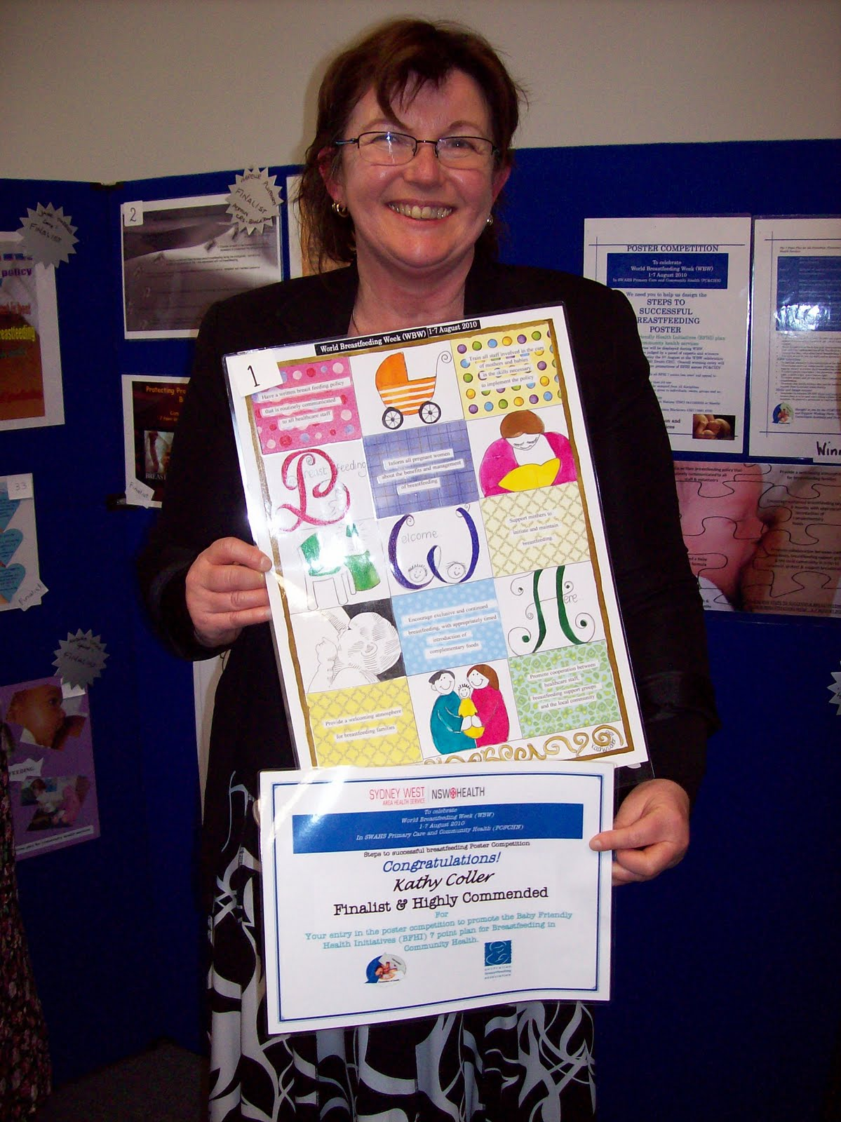 Kat Screativeyearin2011 The Breast Feeding Week Poster Competition