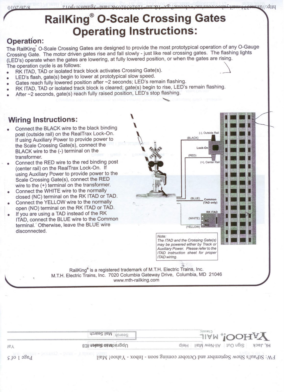 small resolution of crossing gate wiring diagram