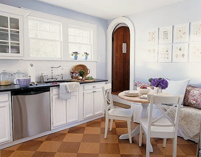 Country Kitchen Floors on The Simply Luxurious Life  A Baker   S Kitchen